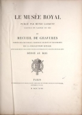 Cover of Le Musée royal
