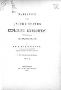 """Cover of """"Narrative of the United States Exploring Expedition"""""""