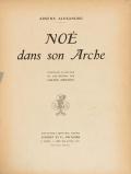 Cover of Noé dans son arche