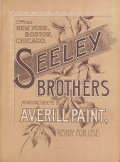 """Cover of """"Seeley Brothers  manufacturers of Averill paint, ready for use"""""""