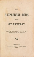 """Cover of """"The Suppressed book about slavery!"""""""