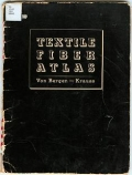 Cover of Textile fiber atlas