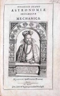 """Cover of """"Tychonis Brahe Astronomiæ instauratæ mechanica"""""""