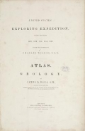 United States Exploring Expedition. During the year 1838, 1839, 1840, 1841, 1842. v.10 [Atlas] (1849)