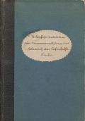 """Cover of """"Vorläuflige instruction über zusammensetzung gebrauch des Luftschifferpark"""""""
