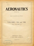 Cover of Aeronautics v. 8-9 1915