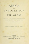 """Cover of """"Africa and its exploration"""""""