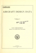 Cover of Aircraft design data ...