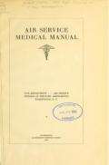 "Cover of ""Air service medical manual"""
