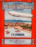 """Cover of """"Airship march ="""""""