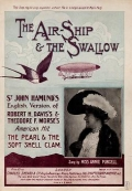 "Cover of ""The air-ship & the swallow"""