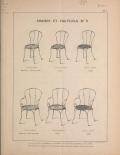 Cover of Album des meubles de jardins et porte-bouteilles