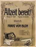 Cover of Allzeit bereit!