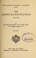 Cover of The American nation