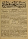 "Cover of ""The American stationer"""
