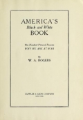 """Cover of """"America's black and white book"""""""
