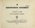 Cover of Anishinabe negamod