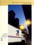 Cover of Annual report of the Postmaster General 1991