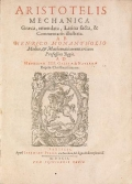 Cover of Aristotelis Mechanica