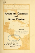 Cover of Around the Caribbean and across Panama