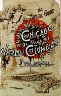 Cover of The artistic guide to Chicago and the World's Columbian Exposition. Illustrated