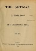 "Cover of ""The Artizan"""