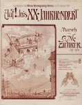 Cover of Auf! In's XX. Jahrhundert
