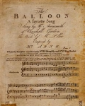 """Cover of """"The balloon"""""""