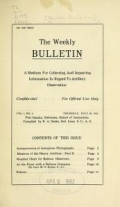 Cover of Balloon bulletins