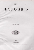 Cover of Les Beaux-Arts v. 2