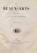 Cover of Les Beaux-Arts
