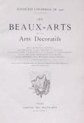 Cover of Les Beaux-arts et les arts del£oratifs