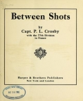 "Cover of ""Between shots"""