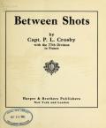 """Cover of """"Between shots"""""""