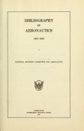 Cover of Bibliography of aeronautics