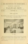 Cover of Boston & Maine railroad men