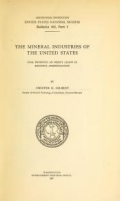 Cover of Bulletin - United States National Museum no. 102 pt. 1-8 1917-1923