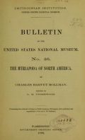 Cover of Bulletin - United States National Museum no. 46 1893