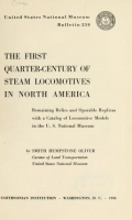 Cover of Bulletin - United States National Museum