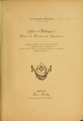 Cover of Cahiers d'arabesques