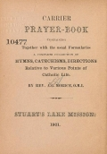 Cover of Carrier prayer-book =