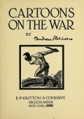 """Cover of """"Cartoons on the war"""""""