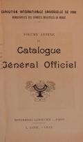 Cover of Catalogue gel®el²al officiel t. 16 annexe