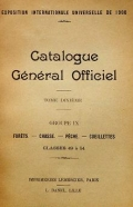 Cover of Catalogue général officiel t. 10