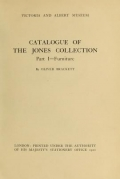 Cover of Catalogue of the Jones collection
