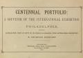 Cover of Centennial portfolio