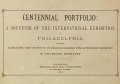 Cover of Centennial portfolio