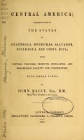 Cover of Central America