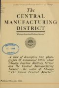 Cover of The Central Manufacturing District