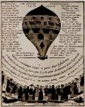 """Cover of """"Chanson sur le globe aëorostatique"""""""